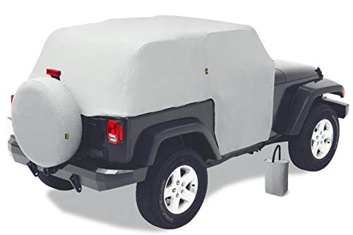 Bestop 81040-09 Charcoal All Weather Trail Cover for 2007-2018 Wrangler JK 2-Door