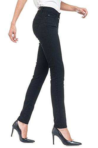 Media True Up Wonder Black Nero Salsa Cintura Jeans Nera Pantaloni Push IX8xASq