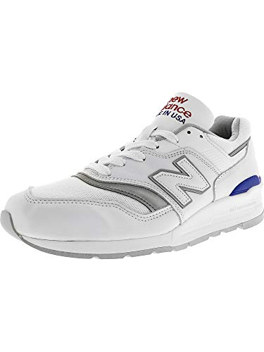 In New Balance Grey White Trainers blue The Crystal 997 Usa Made rOZnt6OB