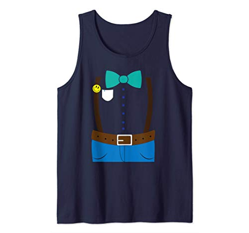 Nerd Costume Halloween Art | Cute Dork Geek Son Gamer Gift Tank Top]()