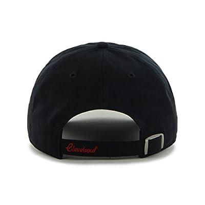 MLB Cleveland Indians Sparkle Adjustable Hat, Navy-Alternate, Womens