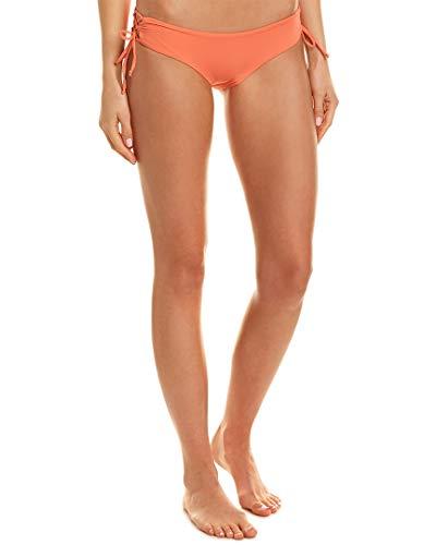 (LSpace Women's Ella Lace-Up Loop Tie Side Hipster Bikini Bottom Fruit Punch M )