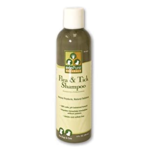 ecoPure 8-Ounce Flea and Tick Shampoo 113