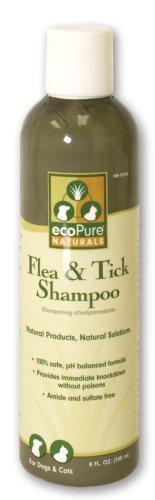 ecoPure 8-Ounce Flea and Tick Shampoo, My Pet Supplies