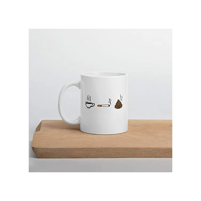 31JL3fo9JkL Taza humorística con mensaje en inglés para hombre y mujer Taza de cerámica de alta calidad, con tinta de calidad que hace que sea resistente al microondas y al lavavajillas. Taza blanca de 330 ml.