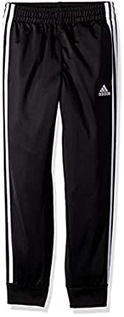 adidas Little Boys' Jogger Pant, Black Heather, 2T