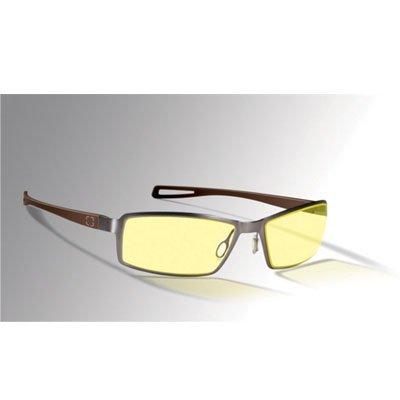 Gunnar ST003-C011 Optiks Catalyst Internal Digital Performance Eyewear WI-FIVE Style Espresso Coloer Frame Amber Lens