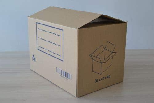 FUN&GO Caja Carton mudanza 60x40x40: Amazon.es: Hogar