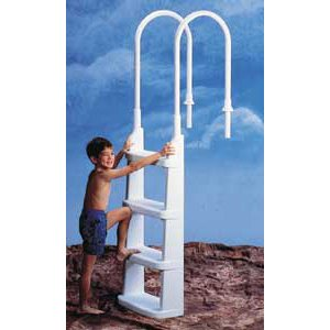- Easy-Incline Above Ground Pool Ladder