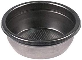 Pack de 3 filtros de café, ciego, filtro en blanco para máquina de café, montaje 70 mm, altura 25,5 mm
