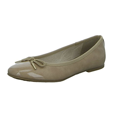 Flats Tamaris Ballet Women's beige beige nn8EAWvR