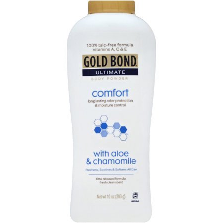 Gold Bond Ultimate Comfort Body Powder 10 oz (Pack of 7)