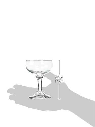 1 Champagne Coupe 5.5oz. Libbey