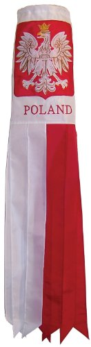 In the Breeze Poland Windsock, 40-Inch -