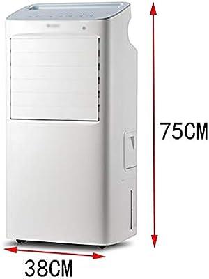 Ventilador electrico Ventilador de pie, ventilador de aire acondicionado de refrigeración - enfriador de aire, deshumidificador, ventilador purificador de aire y modo de suspensión, control remoto, ve: Amazon.es: Hogar