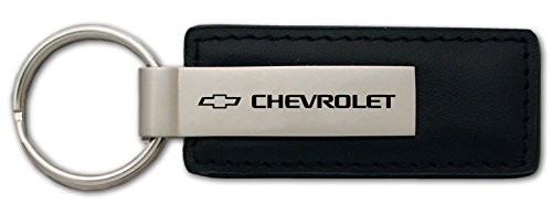 chevrolet-black-leather-key-chain