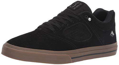 Emerica Men's Reynolds 3 G6 Vulc Skate Shoe, Black/Gum, 12.0 Medium US (Mens Emerica Shoes)