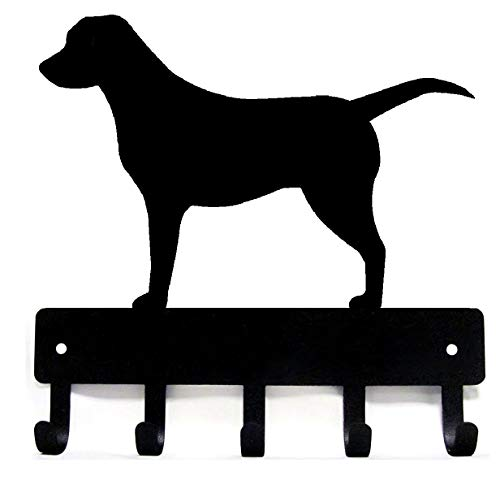 Labrador Retriever Key Rack & Dog Leash Hanger - Small 6 inch