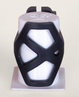 District Triple Light Clamp-BLACK (Standard)