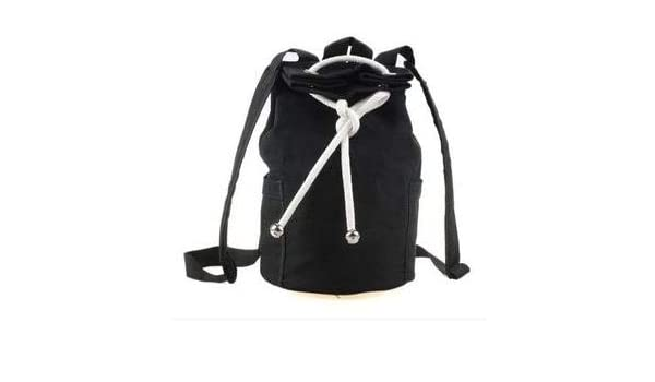 Amazon.com: Large Capacity Men Drawstring Backpack Canvas Bucket Bag uniFashionable Concise Bags: Kitchen & Dining
