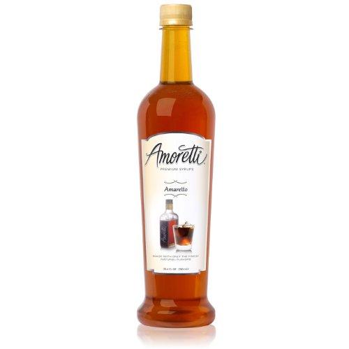 Creamer Amaretto - Amoretti Premium Syrup, Amaretto, 25.4 Ounce