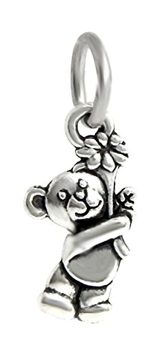 r with Flower Charm Bead for Charms Bracelets ()