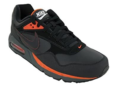 timeless design 5eeb0 a9ad9 Nike Air Max Correlate Leather Mens Running Shoes 518292-080 Black 10 M US