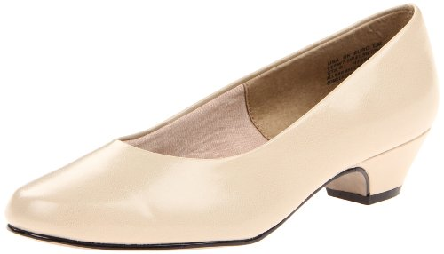 Soft Style by Hush Puppies Angel II Mujer US 6 Crema Grande Tacones