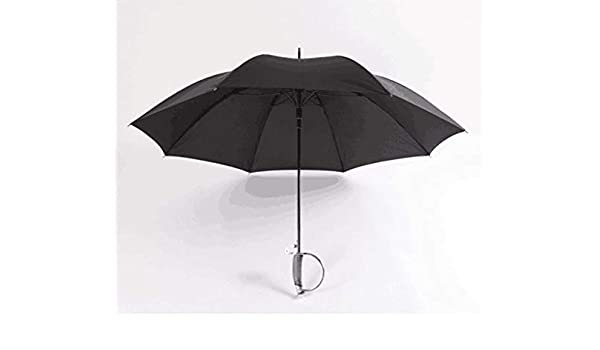 SANQING Paraguas Personalizado Mango Paraguas Negro Largo ...
