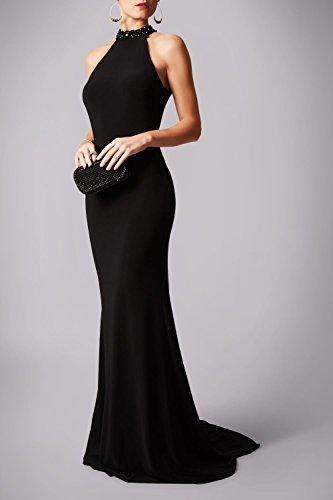 Kleid Schwarze Mascara Schwarz Träne Zurück Mc181206p Jersey gqUaRwT