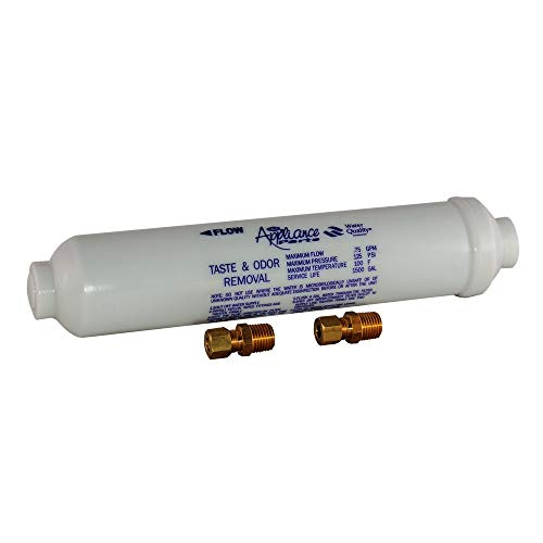 EZ-FLO 60461N In-Line Water Filter for Taste and Odor, 10