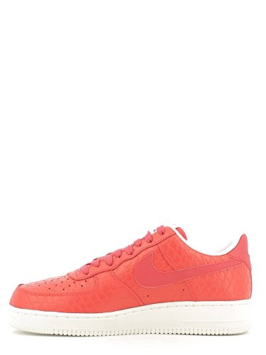 Nike Air Force 1 '07 Lv8 - Zapatillas de baloncesto Hombre Rojo (action red/action red-summit white)