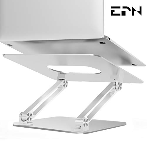Buy Bargain Laptop Stand, EPN Laptop Riser with Heat-Vent to Elevate Laptop, Adjustable Desktop Hold...