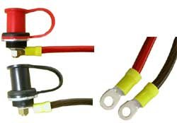 Battery Post and Wiring Kit Remote Jumper Terminals Bryke Racing