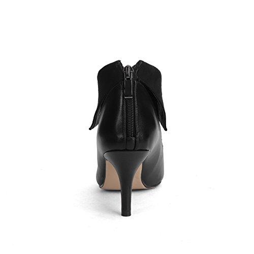1to9 - Sandalias Con Cuña Para Mujer, Negras (negro), 35 Eu
