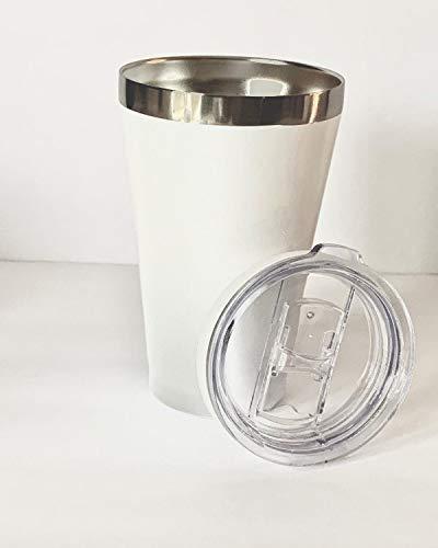 Stainless Steel Drink Tumbler 15oz Travel Mug for hot or cold beverages
