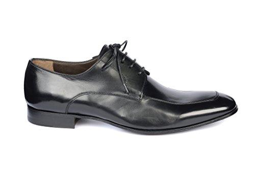 h Bc235 Hommes Calpierre Noir À Derby Lacets Chaussures qaP5xdg