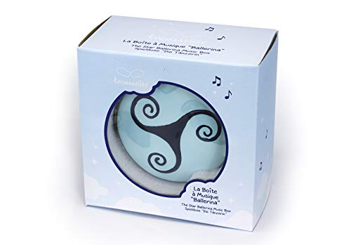 Trousselier - Ballerina - Ballerina Movie - Collector's Music Box - Blue by Trousselier (Image #4)