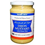 Trader Joe's Dijon Mustard with White Wine 13 oz (Pack of 2)