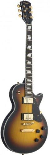Stagg L400-TS Classic Rock L 6-String Electric Guitar - Sunb