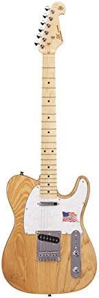SX - Té de guitarra eléctrica con forma de baldosa en fresno ...