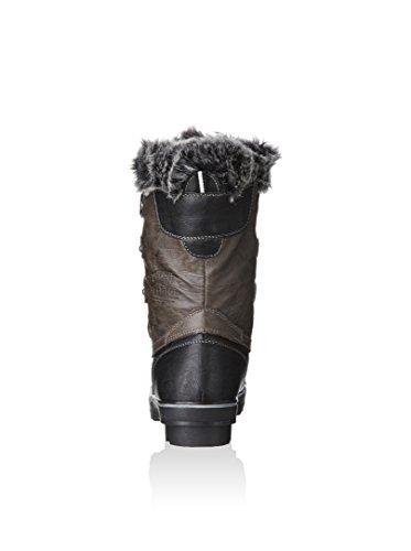 Marrón color Aponi mujer Oscuro negro Kimberfeel para nieve Kimberfeel Botas de 7RFHzwx70q