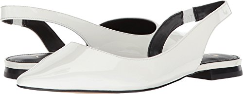 Marc Fisher Ltd Mujeres Sessily True Blanco / Blanco / Nueva Charol