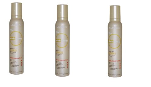 Matrix Shade Pack Of 3 Memory Sparkling Blonde Color Enhancing Foam Conditioner Warm by Matrix, 6.9 (3 Matrix Shade Memory)