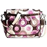 Coach Snaphead Pink Multifunction Diaper Baby Messenger Style Bag