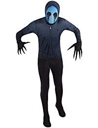 Official Eyeless Jack Urban Legends Kids Halloween Fancy Dress Costume - Medium (Age 8-10)