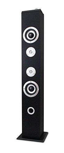 Metronic 477091 Bluetooth luidspreker kolom Shadow Tower, 160W zwart