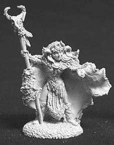 - Reaper Miniatures Queen Shanon #02183 Dark Heaven Legends Unpainted Metal Figure