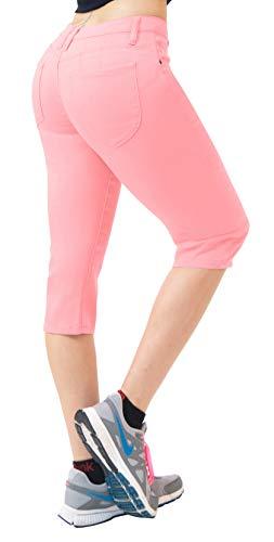 Super Comfy Stretch Bermuda Shorts Q43308 Blush 1 ()