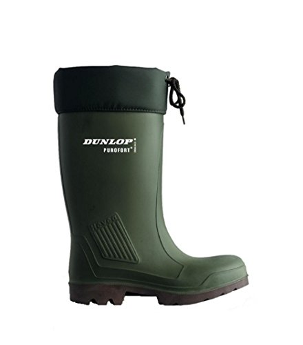 Mens VK Green Safety C462943 Full Thermoflex Grün Safety Boots Dunlop Oliv Wellington n6Y5qz5x